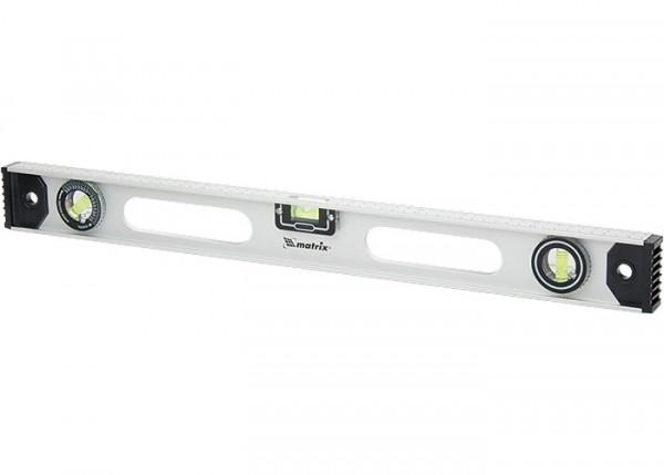 MTX libela aluminijumska, rotirajuća sa uglomerom 600 mm