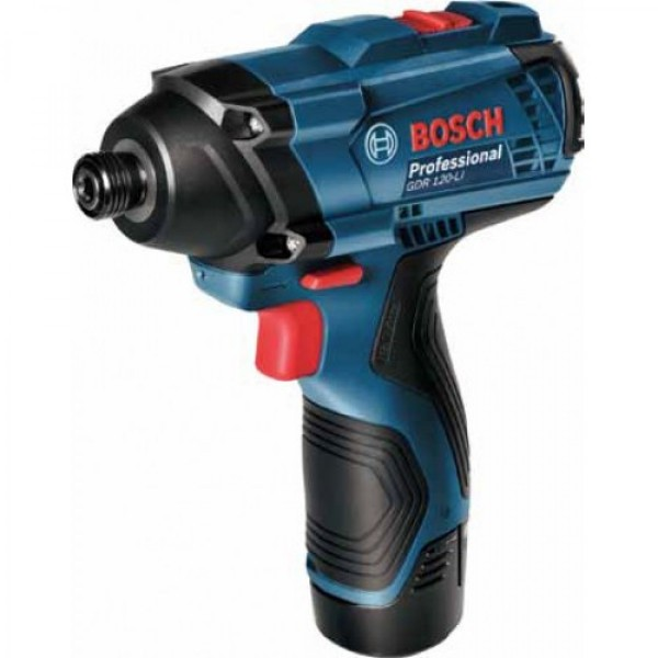 Bosch Akumulatorski udarni odvrtač GDR 120-Li 2X12V 1,5 Ah