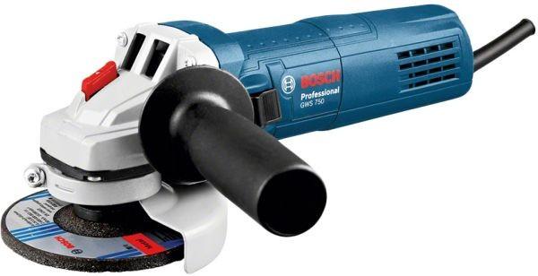 Ugaona brusilica sa regulacijom brzine Bosch GWS 750 S 125 mm