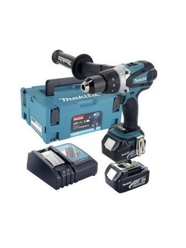Akumulatorska bušilica - odvijač 18V DDF458RFJ MAKITA