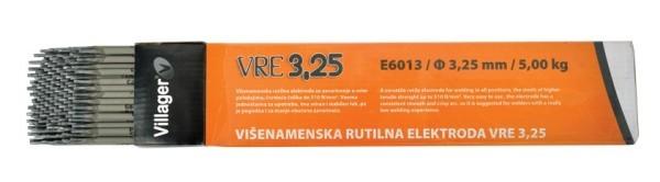 ELEKTRODA VILLAGER 3.25 MM 5/1 E6013