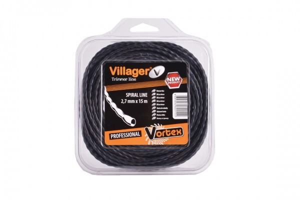 SILK ZA TRIMER 2.7MM X 15M - VILLAGER VORTEX