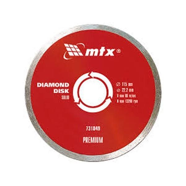 Rezna ploca za metal 115x1.6 Mtx