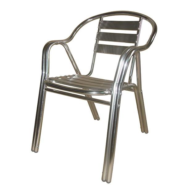 Bastenska stolica aluminijumska LARA
